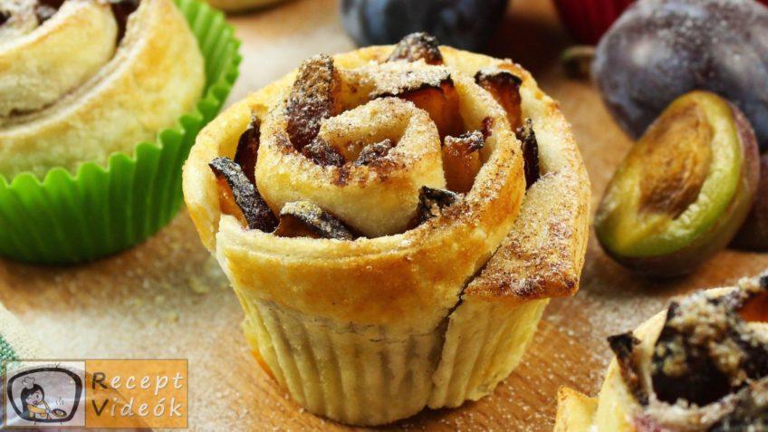 Szilvarózsa recept, Szilvarózsa elkészítése - Recept Videók