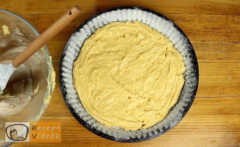 Szilvás lepény recept, Szilvás lepény elkészítése 2. lépés