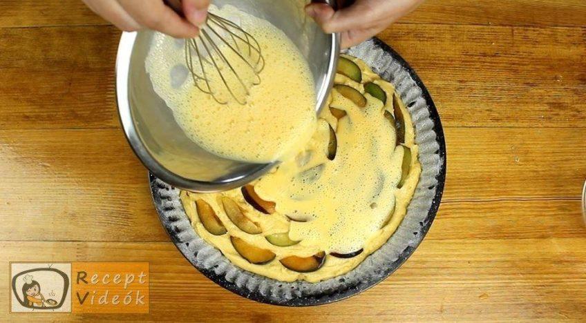 Szilvás lepény recept, Szilvás lepény elkészítése 5. lépés