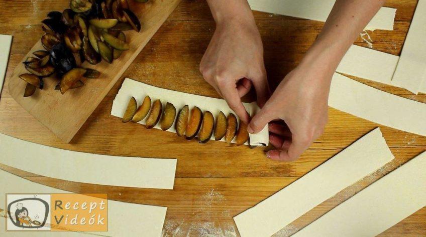 Szilvarózsa recept, Szilvarózsa elkészítése 2. lépés