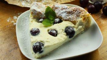 Szőlős mascarpone torta recept, Szőlős mascarpone torta elkészítése - Recept videók