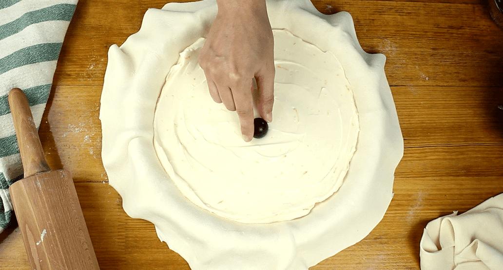 Szőlős mascarpone torta recept, Szőlős mascarpone torta elkészítése 4. lépés