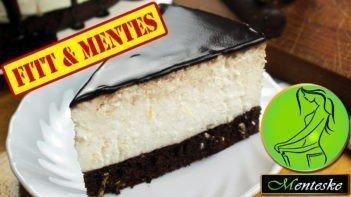 MENTESKE Túrórudi torta