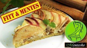 MENTESKE Almás-vaníliás pite