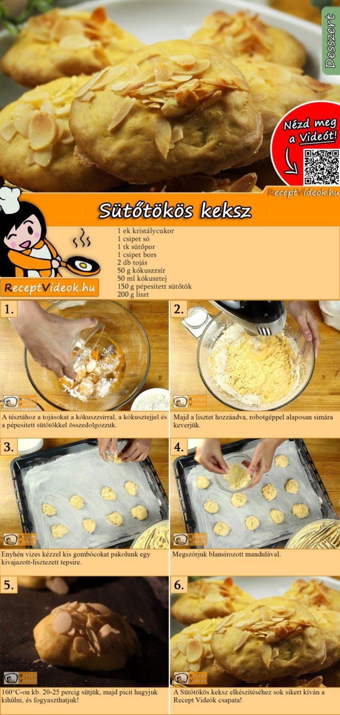 Sütőtökös keksz recept elkészítése videóval