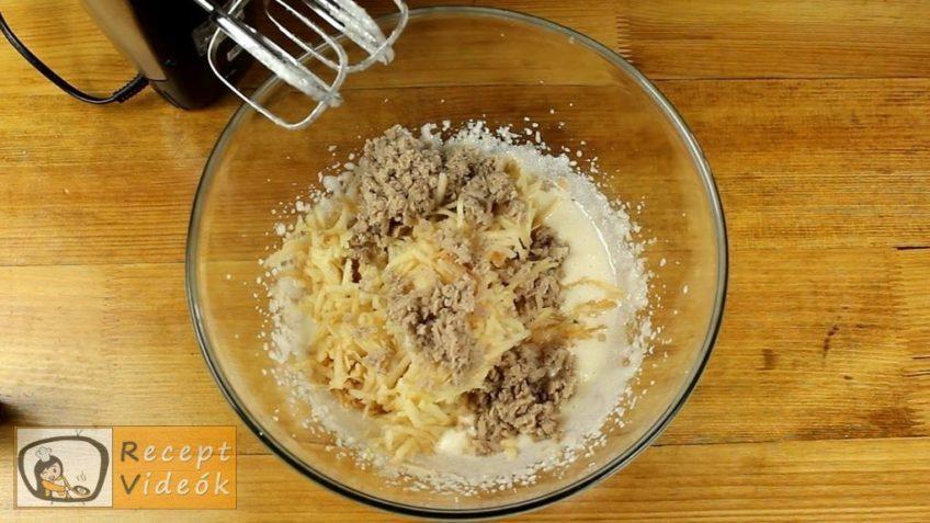 Almás-gesztenyés kevert süti recept, Almás-gesztenyés kevert süti elkészítése 2. lépés