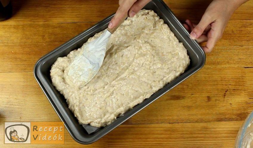 Almás-gesztenyés kevert süti recept, Almás-gesztenyés kevert süti elkészítése 4. lépés