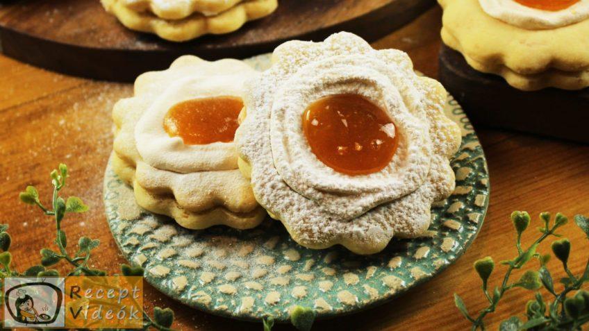 Narancsos-habos linzerkarika recept, Narancsos-habos linzerkarika elkészítése - Recept Videók