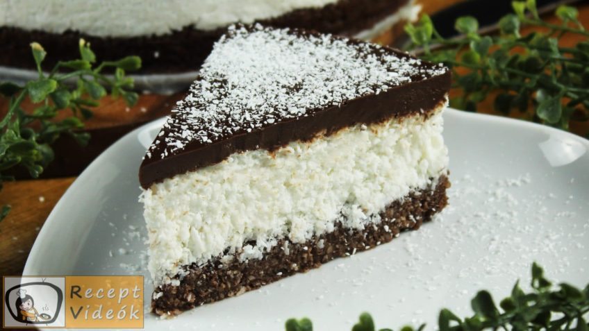 Vegán bounty torta recept, Vegán bounty torta elkészítése - Recept Videók
