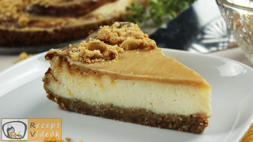Karamellás sajttorta recept, Karamellás sajttorta készítése - Recept Videók