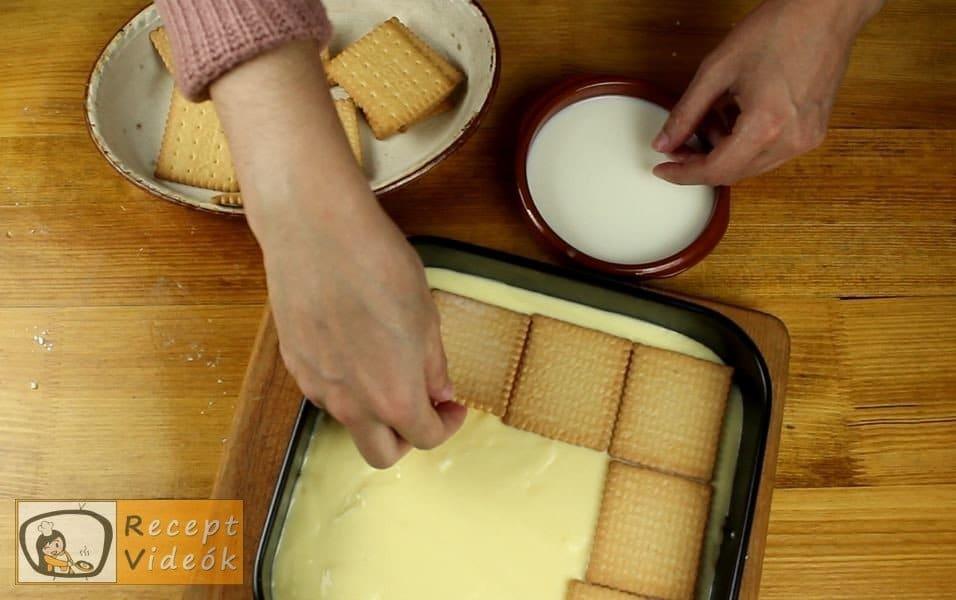 Diós-krémes linzer recept, a Diós-krémes linzer elkészítése 13. lépés