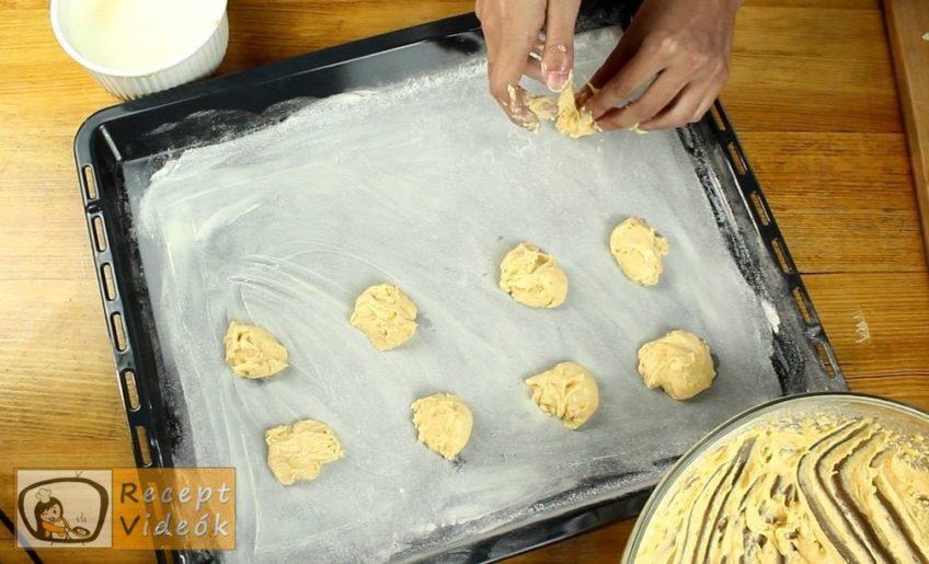 Sütőtökös keksz recept, Sütőtökös keksz elkészítése 3. lépés
