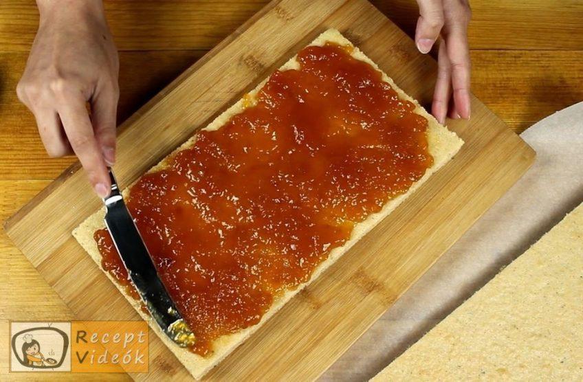 Gesztenyés mascarpone szelet recept, Gesztenyés mascarpone szelet elkészítése 6. lépés