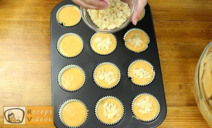 Sütőtökös muffin recept, Sütőtökös muffin elkészítése 4. lépés