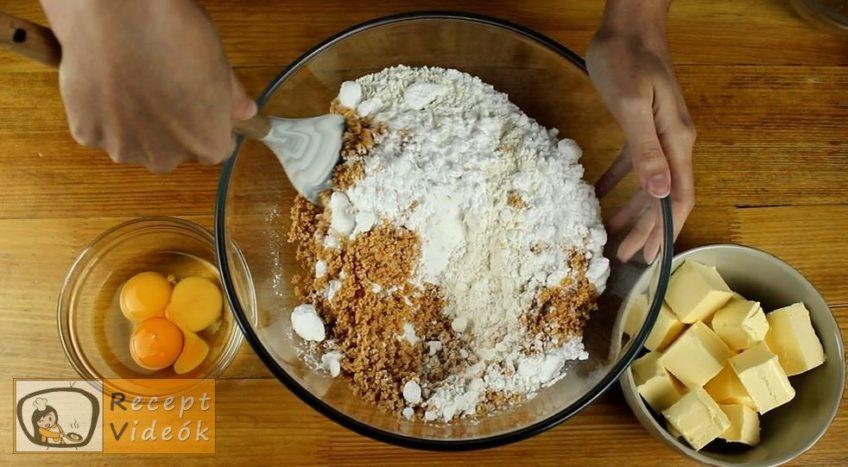 Narancsos-habos linzerkarika recept, Narancsos-habos linzerkarika elkészítése 1. lépés