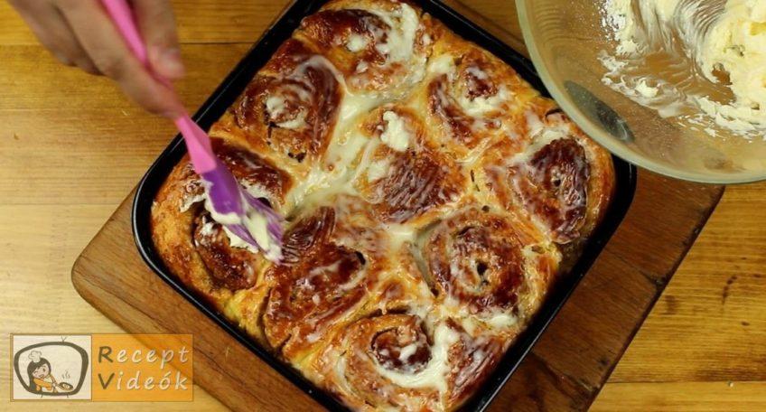 Sütőtökös-fahéjas csiga recept, a Sütőtökös-fahéjas csiga elkészítése 10. lépés