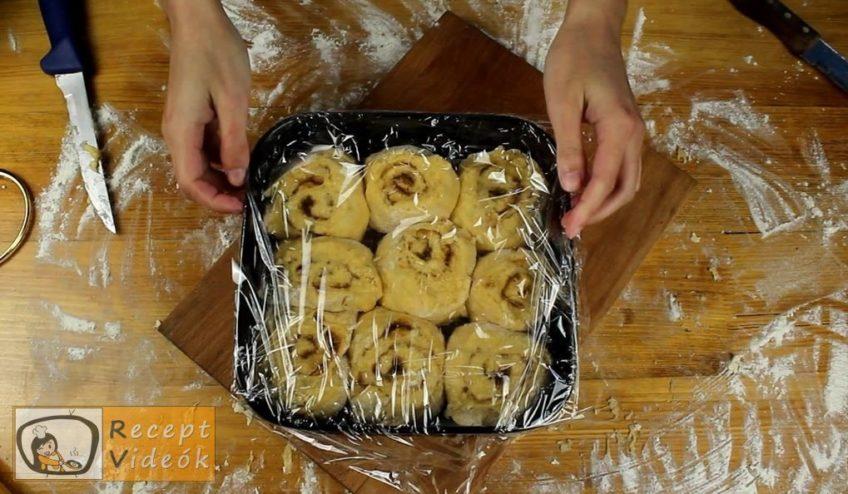 Sütőtökös-fahéjas csiga recept, a Sütőtökös-fahéjas csiga elkészítése 7. lépés