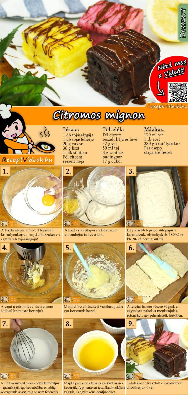 Mignon recept elkészítése videóval