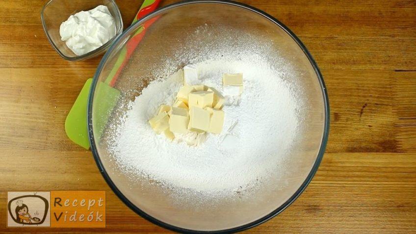 Almás-diós-narancsos pite recept, Almás-diós-narancsos pite elkészítése 1. lépés
