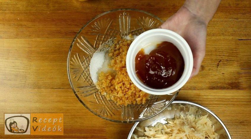 Almás-diós-narancsos pite recept, Almás-diós-narancsos pite elkészítése 4. lépés