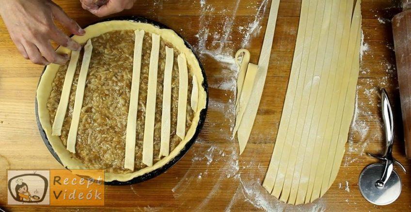 Almás-diós-narancsos pite recept, Almás-diós-narancsos pite elkészítése 8. lépés