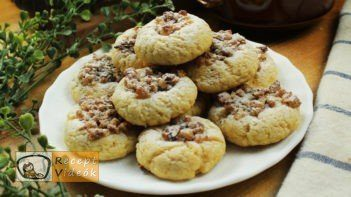 Mézes-diós ökörszem süti recept, Mézes-diós ökörszem süti elkészítése - Recept Videók