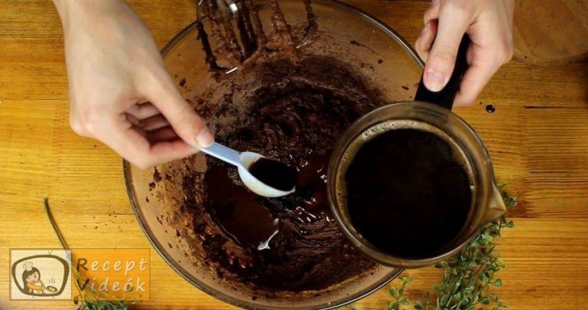 Chococcino szelet recept, Chococcino szelet elkészítése 3. lépés