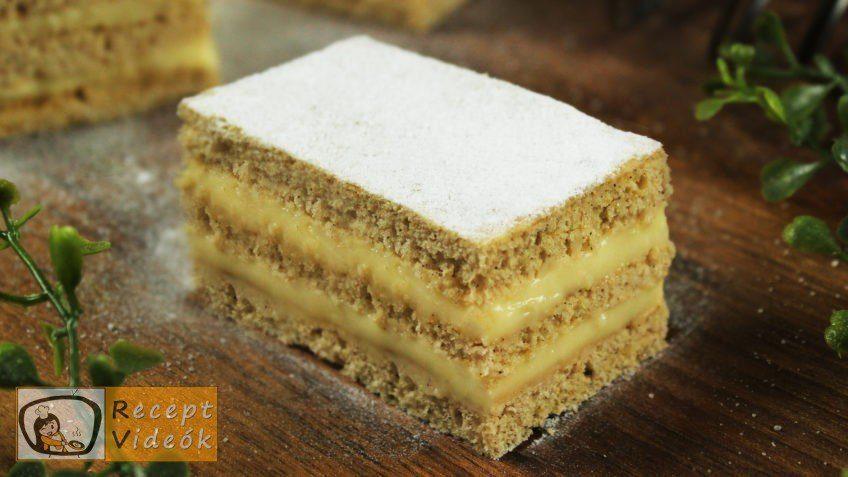 Fahéjas-mézes szelet recept, Fahéjas-mézes szelet elkészítése - Recept Videók