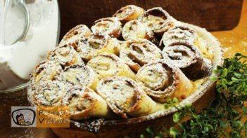Bécsi rakott palacsinta recept, Bécsi rakott palacsinta elkészítése - Recept Videók