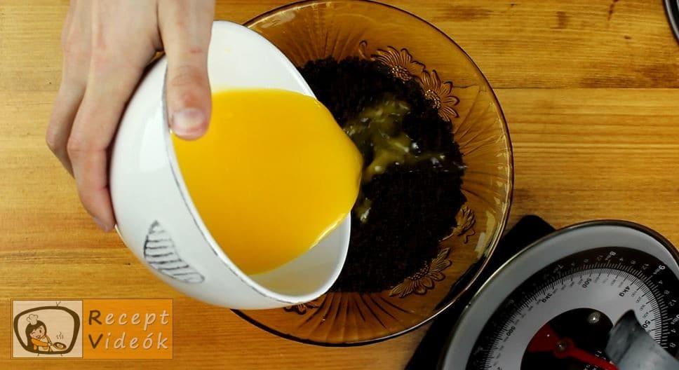 Sütés nélküli csokoládétorta recept, Sütés nélküli csokoládétorta elkészítése 2. lépés