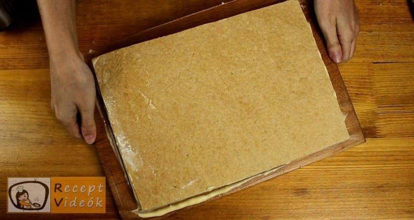 Fahéjas-mézes szelet recept, Fahéjas-mézes szelet elkészítése 10. lépés