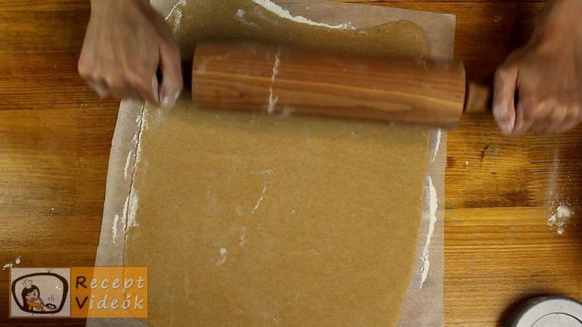 Fahéjas-mézes szelet recept, Fahéjas-mézes szelet elkészítése 4. lépés