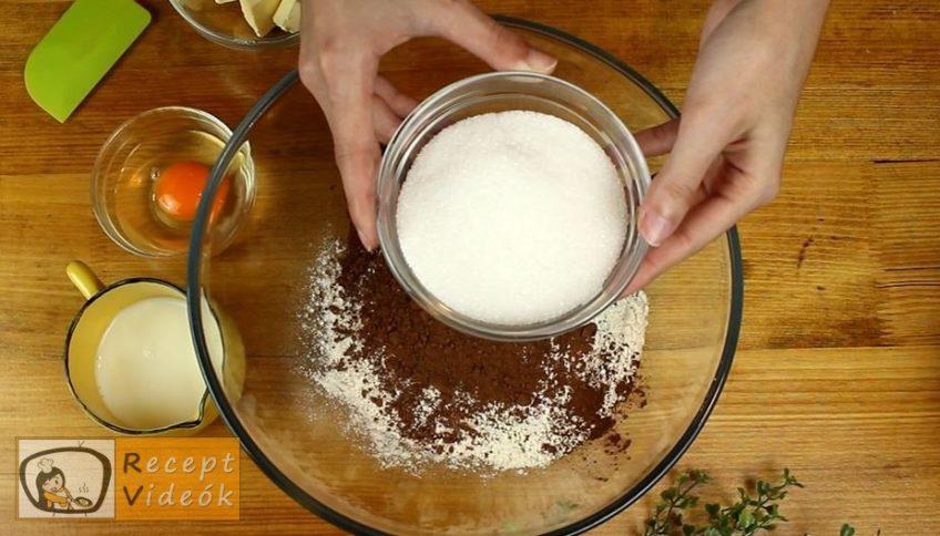 Kávés-karamellás szelet recept, Kávés-karamellás szelet elkészítése 1. lépés