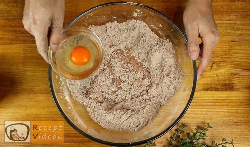 Kávés-karamellás szelet recept, Kávés-karamellás szelet elkészítése 3. lépés