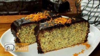 Narancsos Máktorta recept, Narancsos Máktorta elkészítése - Recept Videók
