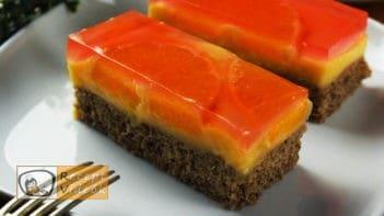 Narancsos szelet recept, Narancsos szelet elkészítése - Recept Videók