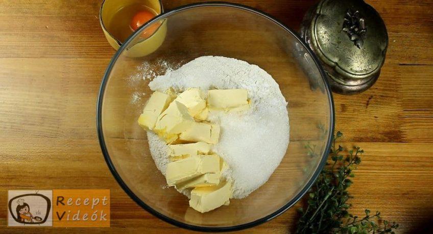 Farsangi szelet recept, Farsangi szelet elkészítése 1. lépés