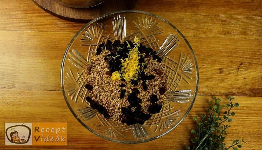 Farsangi szelet recept, Farsangi szelet elkészítése 4. lépés