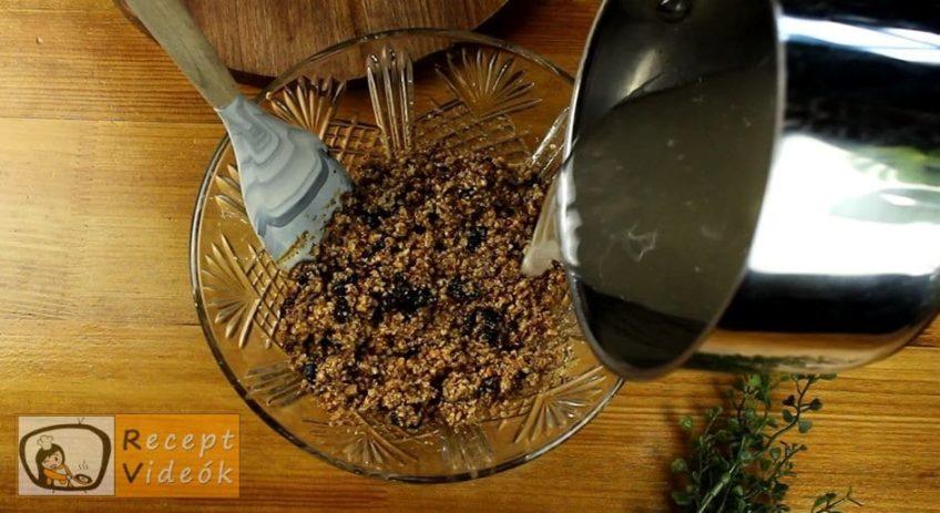 Farsangi szelet recept, Farsangi szelet elkészítése 5. lépés