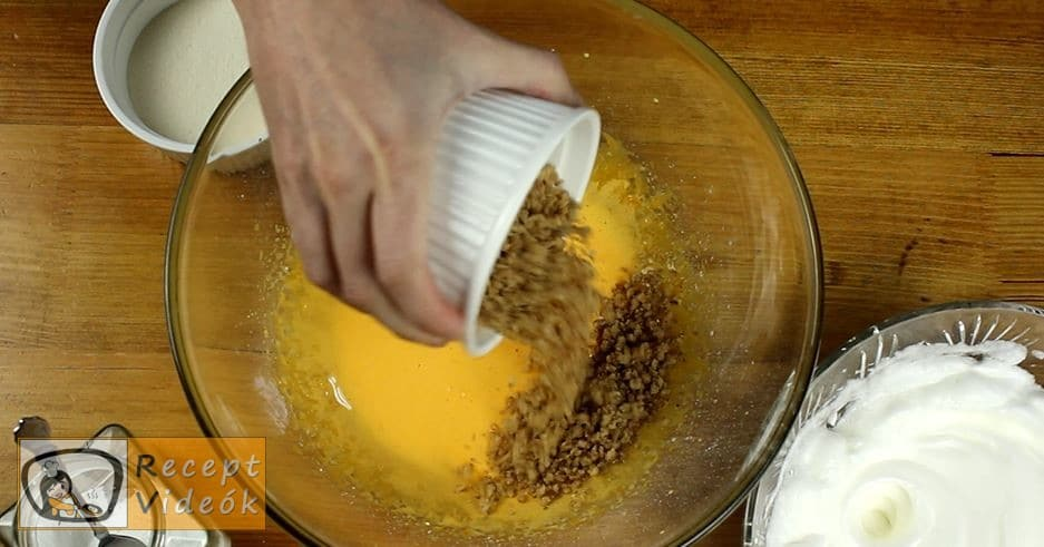 Narancsos szelet recept, Narancsos szelet elkészítése 2. lépés