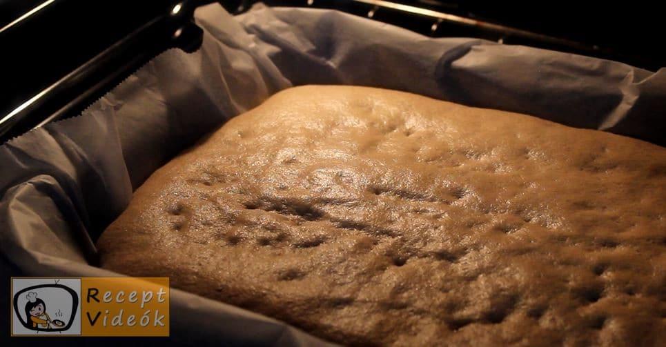 Narancsos szelet recept, Narancsos szelet elkészítése 7. lépés
