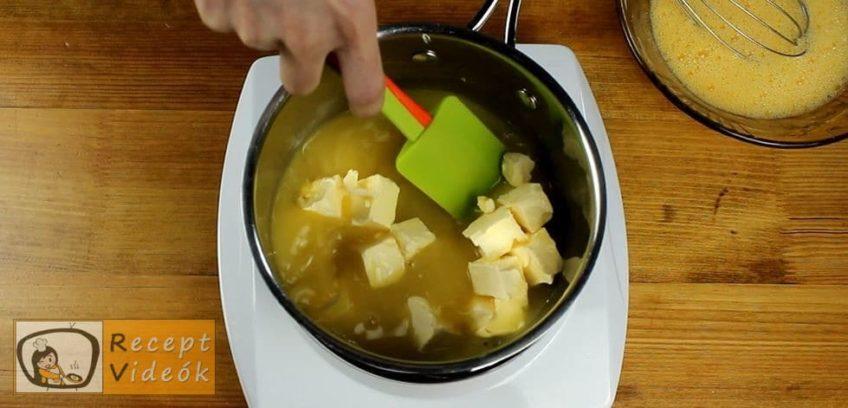 Narancsos szelet recept, Narancsos szelet elkészítése 9. lépés