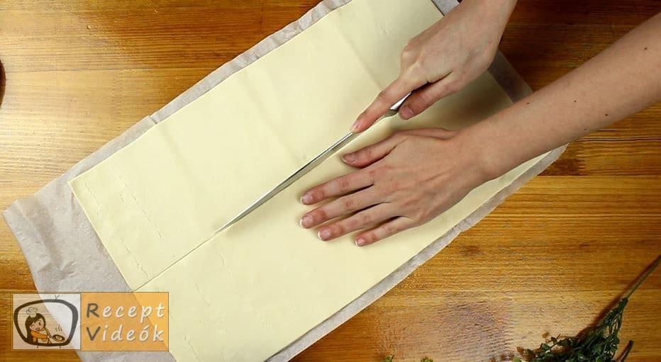 Virslis falatkák recept, virslis falatkák elkészítése 2. lépés