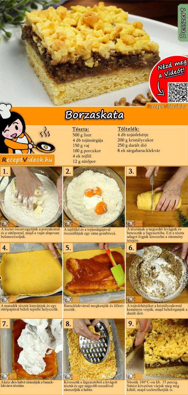 Borzaskata recept elkészítése videóval